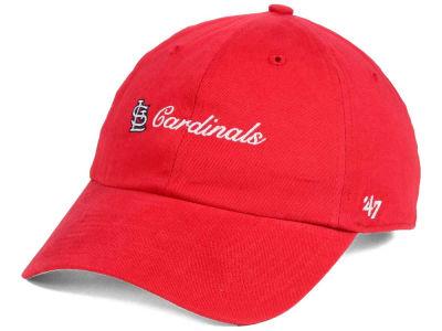 the latest afaea 78e3b St. Louis Cardinals  47 MLB Women s Cohasset  47 MVP Cap