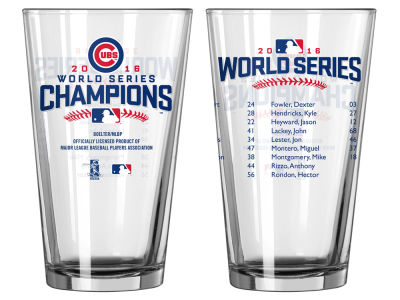 Chicago Cubs 16oz Roster Pint - EVENT