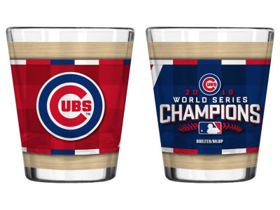 Chicago Cubs MLB 2016 World Series Champs 2oz Sublimated Shot Glass