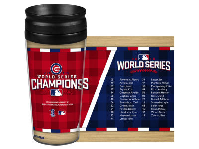 Chicago Cubs MLB 2016 World Series Champs 14oz Travel Tumbler