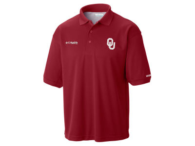 Oklahoma Sooners Columbia NCAA Men's Collegiate Perfect Cast Polo Shirt