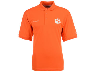 Clemson Tigers Columbia NCAA Men's Collegiate Perfect Cast Polo Shirt