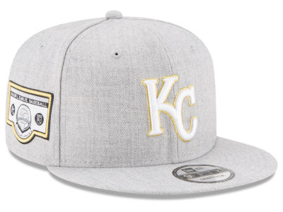 Kansas City Royals New Era MLB Heather Metallic Patch 9FIFTY Snapback Cap