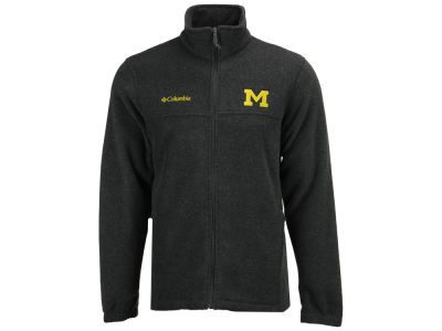 Michigan Wolverines Columbia NCAA Flanker Full Zip Jacket