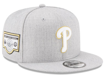 Philadelphia Phillies New Era MLB Heather Metallic Patch 9FIFTY Snapback Cap