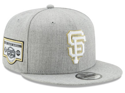 San Francisco Giants New Era MLB Heather Metallic Patch 9FIFTY Snapback Cap