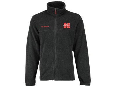 Nebraska Cornhuskers Columbia NCAA Flanker Full Zip Jacket