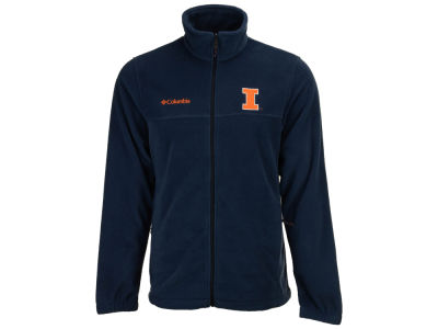 Illinois Fighting Illini Columbia NCAA Flanker Full Zip Jacket