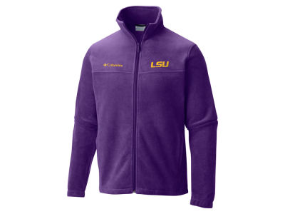 LSU Tigers Columbia NCAA Flanker Full Zip Jacket
