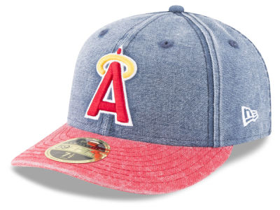 Los Angeles Angels New Era MLB 59FIFTY Bro Cap