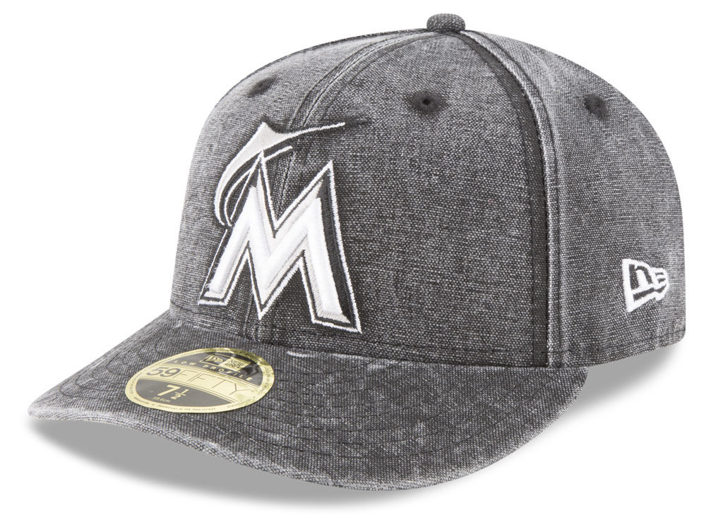 Miami Marlins New Era MLB 59FIFTY Bro Cap  d28e60c3131a