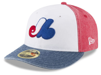 Montreal Expos New Era MLB 59FIFTY Bro Cap
