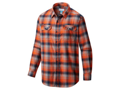 Illinois Fighting Illini Columbia NCAA Men's Flare Gun Long Sleeve Flannel Button Up Shirt