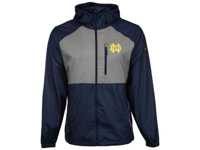 Notre Dame Fighting Irish Columbia NCAA Men's Flash Forward Windbreaker Jacket