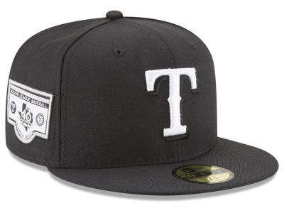 Texas Rangers New Era MLB Banner Patch 2.0 59FIFTY Cap