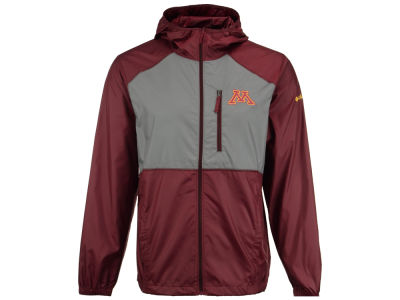 Minnesota Golden Gophers Columbia NCAA Men's Flash Forward Windbreaker Jacket