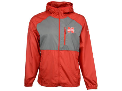 Nebraska Cornhuskers Columbia NCAA Men's Flash Forward Windbreaker Jacket