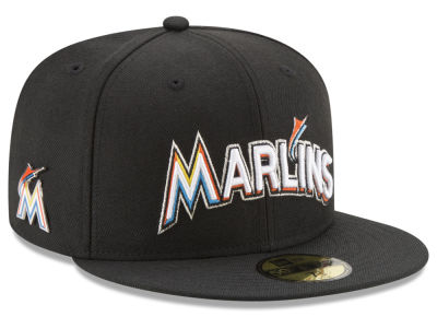 Miami Marlins New Era MLB Pintasic 59FIFTY Cap