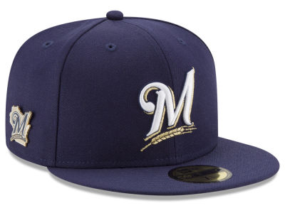 Milwaukee Brewers New Era MLB Pintasic 59FIFTY Cap