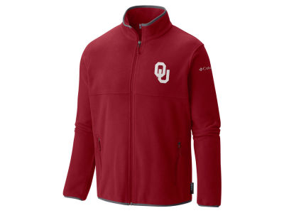 Oklahoma Sooners Columbia NCAA Men's Fuller Ridge Fleece Jacket