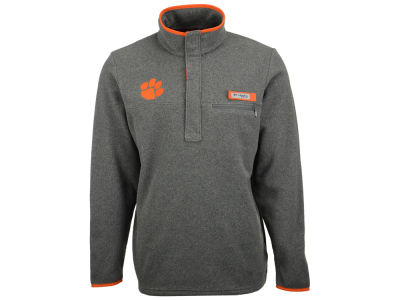 Clemson Tigers Columbia NCAA Men's Harborside Fleece Pullover