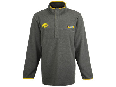 Iowa Hawkeyes Columbia NCAA Men's Harborside Fleece Pullover
