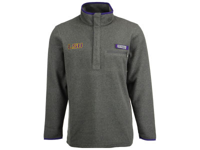 LSU Tigers Columbia NCAA Men's Harborside Fleece Pullover
