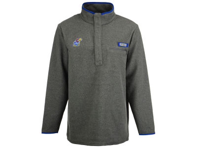 Kansas Jayhawks Columbia NCAA Men's Harborside Fleece Pullover