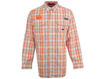 Clemson Tigers Columbia NCAA Super Bonehead Long Sleeve Shirt