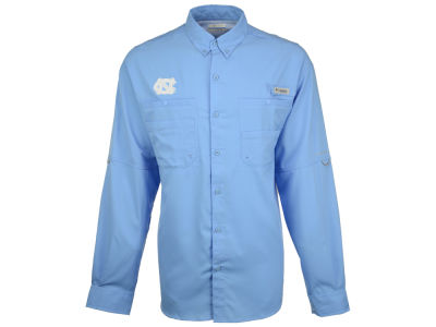 North Carolina Tar Heels Columbia NCAA Men's Tamiami Long Sleeve Shirt