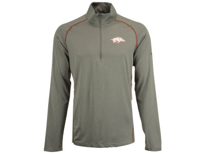 Arkansas Razorbacks Columbia NCAA Men's Tuk Mountain Half Zip Pullover