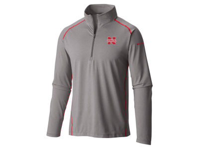 Nebraska Cornhuskers Columbia NCAA Men's Tuk Mountain Half Zip Pullover