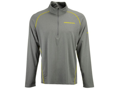 Oregon Ducks Columbia NCAA Men's Tuk Mountain Half Zip Pullover