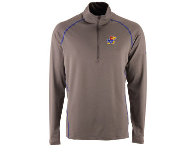 Kansas Jayhawks Columbia NCAA Men's Tuk Mountain Half Zip Pullover