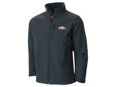 Arkansas Razorbacks Columbia NCAA Ascender Softshell Jacket