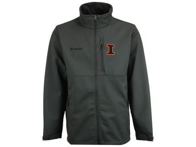 Illinois Fighting Illini Columbia NCAA Ascender Softshell Jacket