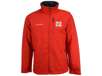 Nebraska Cornhuskers Columbia NCAA Ascender Softshell Jacket