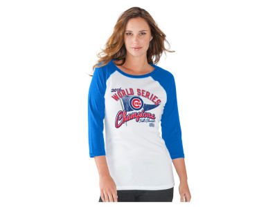 Chicago Cubs MLB Women's 2016 World Series Champ Raglan T-Shirt