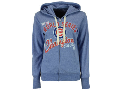 Chicago Cubs MLB Women's 2016 World Series Champ Flag Hoodie