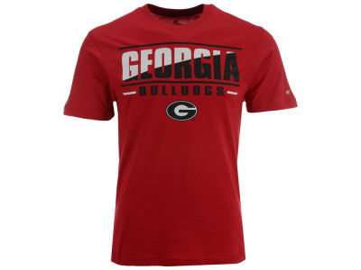 Georgia Bulldogs Colosseum NCAA Men's Two Face T-Shirt