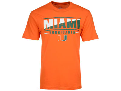 Miami Hurricanes Colosseum NCAA Men's Two Face T-Shirt