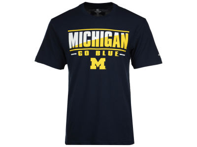 Michigan Wolverines Colosseum NCAA Men's Two Face T-Shirt