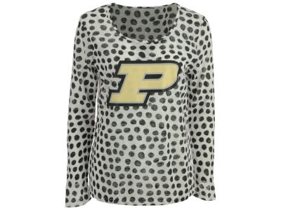 Purdue Boilermakers Gameday Couture NCAA Women's Open Back Polka Dot Sweater