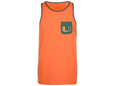 Miami Hurricanes NCAA Men's Babka Pocket Tank