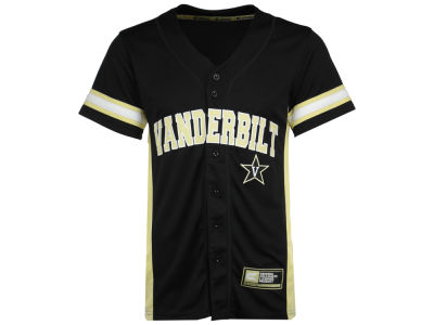 Vanderbilt Commodores Colosseum NCAA Men's Strike Zone Baseball Jersey