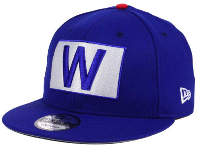 "Chicago Cubs New Era MLB World Series ""W"" Flag 9FIFTY Snapback Cap"