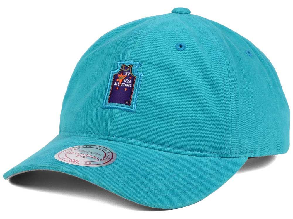 NBA All Star Shaquille O Neal Mitchell   Ness NBA Deez Jersey Dad Hats  130843883ddc