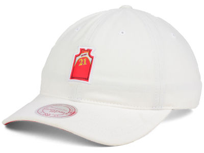 Atlanta Hawks Dominique Wilkins Mitchell and Ness NBA Deez Jersey Dad Hats