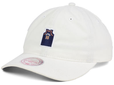 Denver Nuggets Dikembe Mutombo Mitchell and Ness Deez Jersey Dad Hats