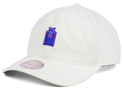 Detroit Pistons Isiah Thomas Mitchell & Ness NBA Deez Jersey Dad Hats